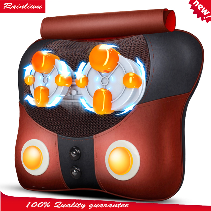 цена Cervical vertebra massager Curing body pain massage pillow household Mul-tifunction massage cushion health care instrument