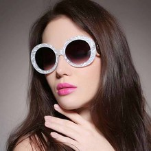 MIZHO Luxury UV Polarized Sunglasses Women Oval Vintage Glasses Pink Lense Plastic Titanium Frame Ladies Eyewear