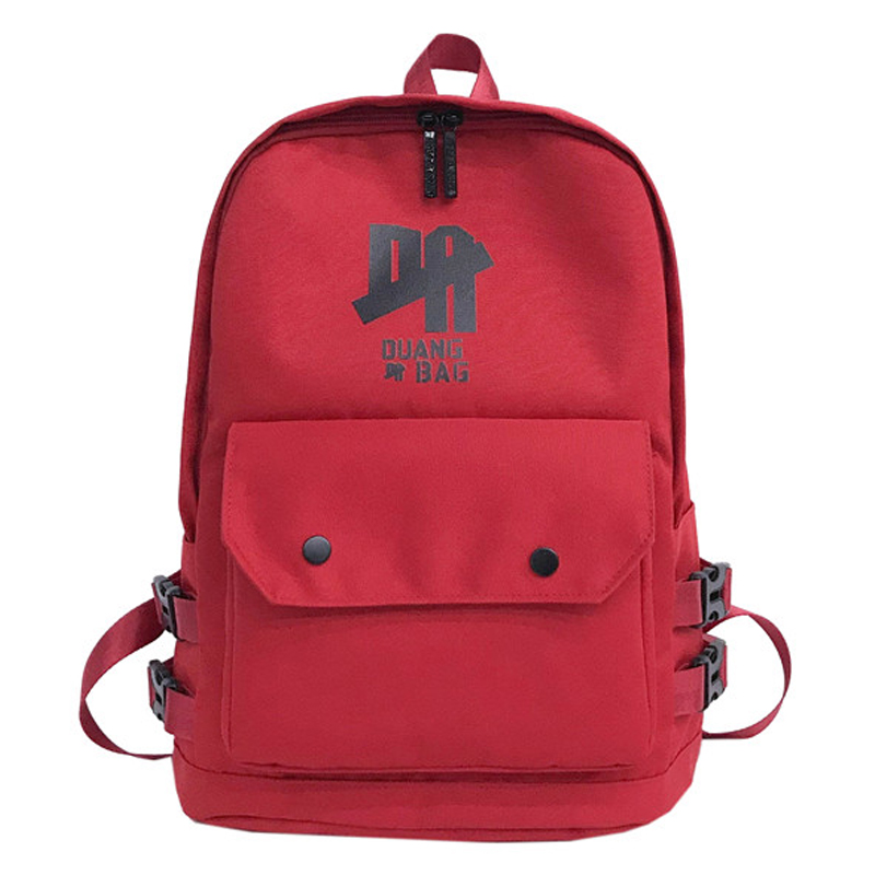 Large Capacity Letter Pattern Printing Girls Knapsack High Quality Oxford Women Back Pack Preppy Style Backpack For Teenager Sac