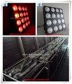 (12pcs+flight case)led dot matrix display cob led 16x30w rgb dmx led blinder wash light effect flight case