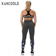 Kancoold HOT Sales Women Sports Trousers Athletic Gym Fitness Yoga Leggings Pants_U450