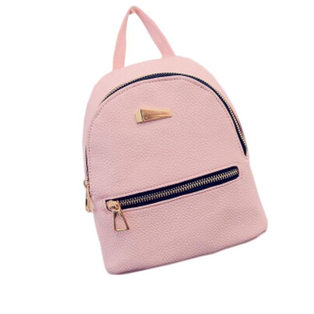 b58a106a9f Women Leather Backpack Children Backpack Mini Backpack Women Cute Back Pack  Backpacks For Teenage Girls Small Bag