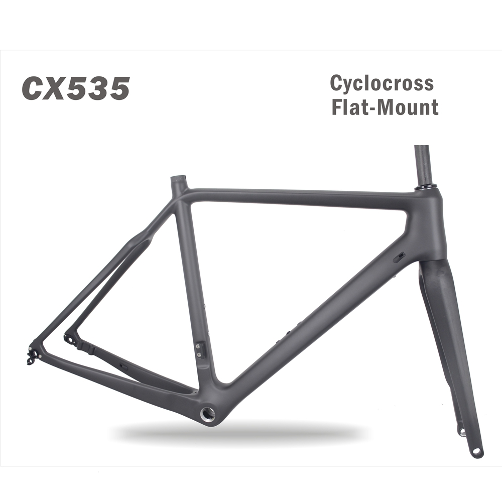 Hot sale Chinese Cyclocross Frame Carbon CX frame Di2 Disc-brake Carbon Cyclocross Bike Frame CX535 hot sale chinese cyclocross frame carbon cx frame di2 disc brake carbon cyclocross bike frame cx535
