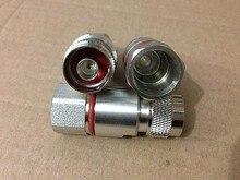 NJ-1/2 подачи кабельный разъем 50-12 тип кабеля N вилка соединителя 10 шт./лот
