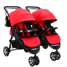 Twin Детские коляски может сидеть светильник Дракон и Феникс