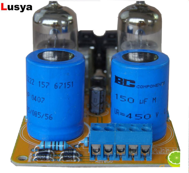 US $18 39 49% OFF 6N3 Vacuum Tube AMP PreAmplifier SRPP amplifier Board Diy  Kits for 5670 G4 014-in Amplifier from Consumer Electronics on