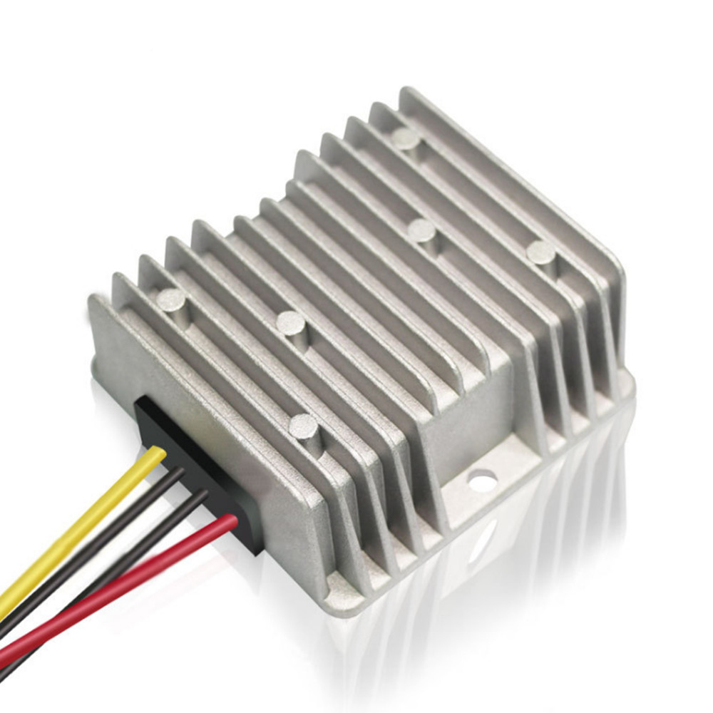 DC 12 V to DC <font><b>24V</b></font> <font><b>5A</b></font> <font><b>120W</b></font> Transformer Converter Booster Step Up Voltage Module Regulator Switch Power Supply for Car LED Solar image