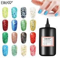 Elite99 Glitter Gel Nail Polish 250ML UV & LED Lamp Top Base Coat Nail Primer Semi Permanent Varnish
