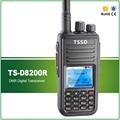 Barato precio competitivo 5 w uhf 400-480 mhz walkie talkie digital tssd ts-8200r similar con tyt md-380