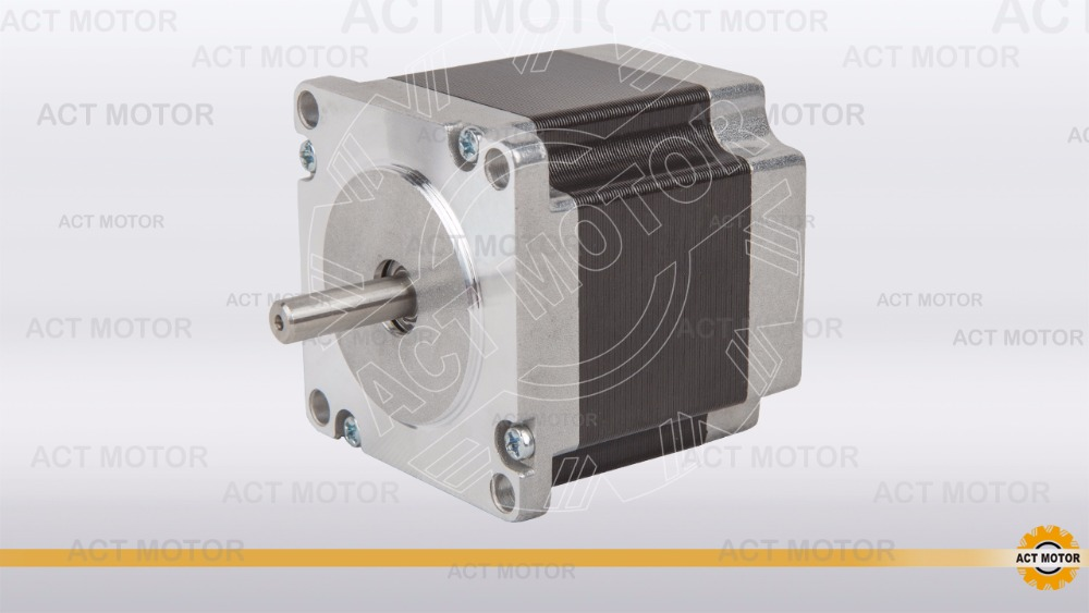 from Germany to EU 23HS6430 nema23 stepper motor, 1.2n.m, 3A, 56MM CE,ROSH WITH DHL цена