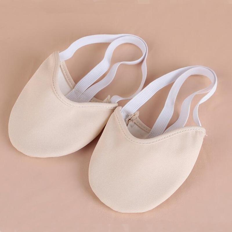 Rhythmic Gymnastics Shoes Soft Half Socks Ballroom Art Gym Accessories Ginastica Elastic Dance Shoes Gymnastics 2 Colors