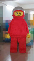 Red Robot Mascot Costume Adult Character Costume Cosplay for Halloween party