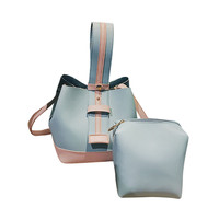 Women S Handbags Fashion Women High Grade Two Set Handbag Shoulder Messenger Bag Zipper Bags Tote