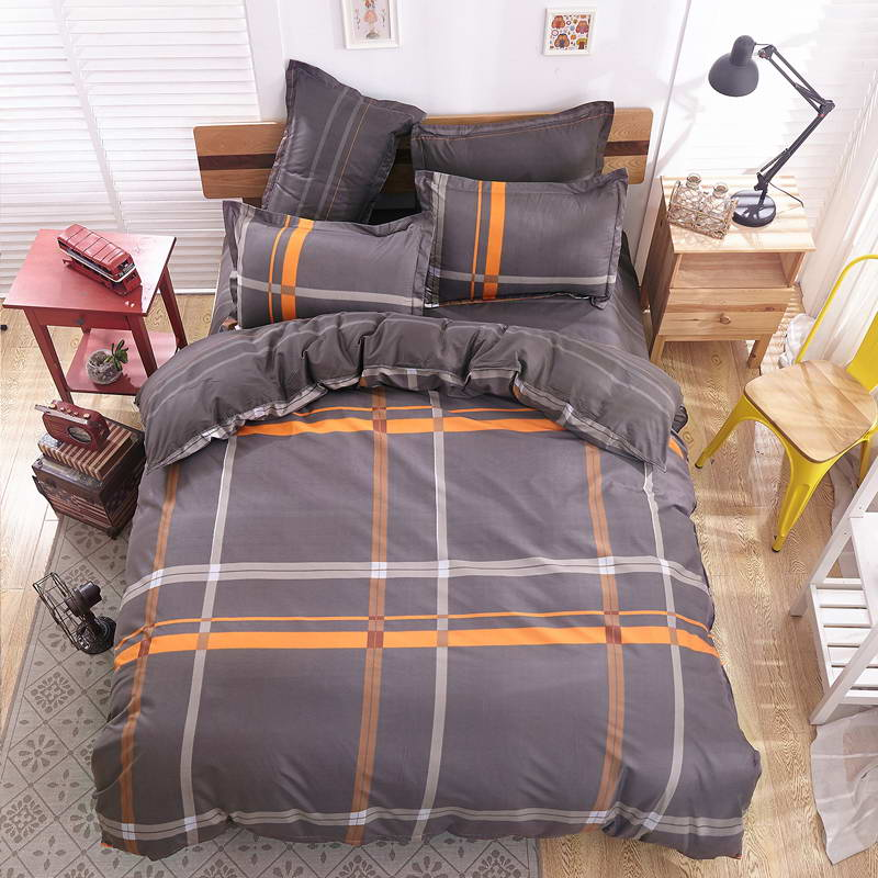 Life style bedding style cover bed cover bed sheet Soft and comfortable Pillowcase King Queen Full size no quilt