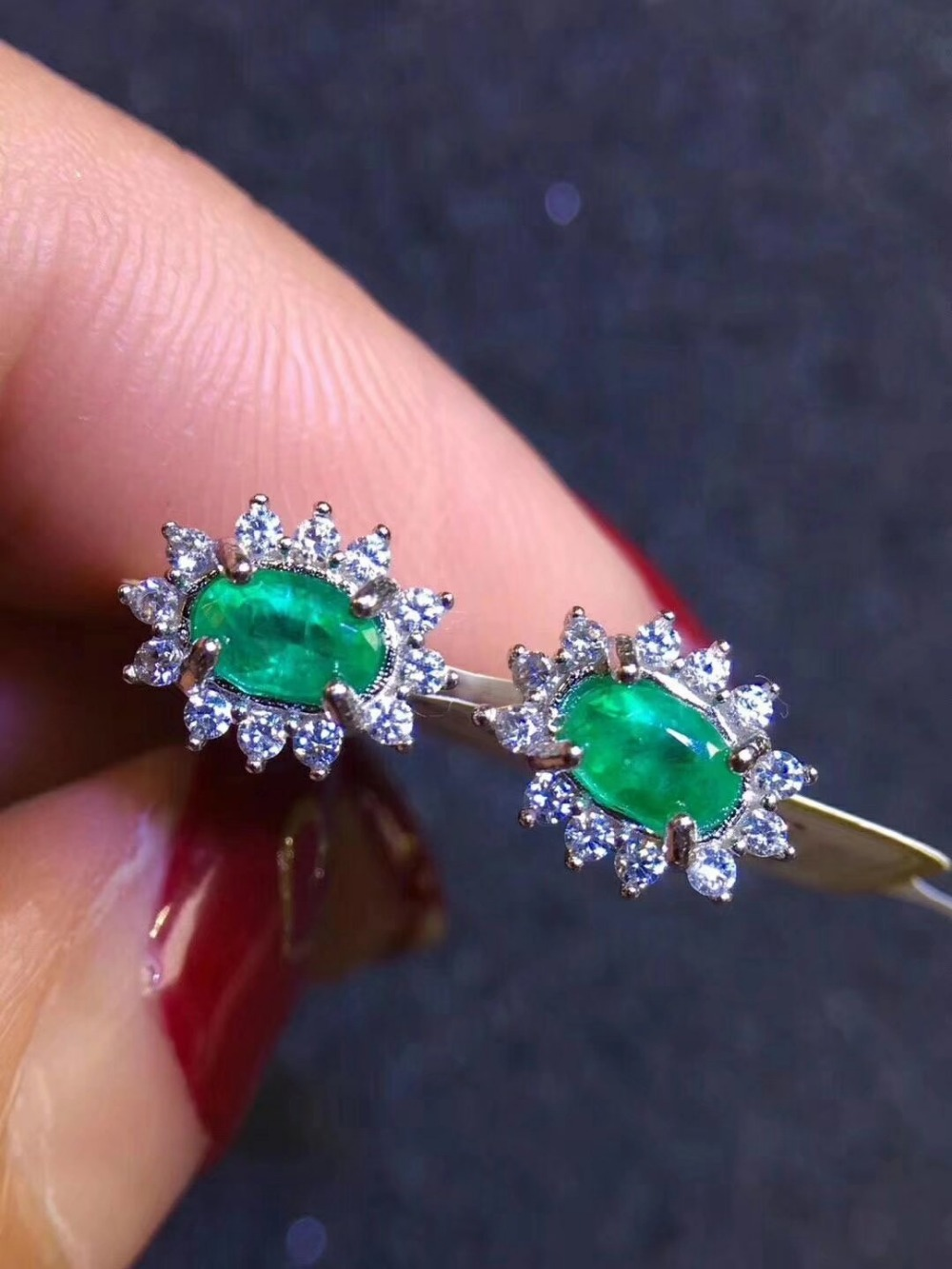 SHILOVEM 925 sterling silver Natural Emerald classic fine Jewelry Customizable women wedding women wholesale yh040602 shilovem 925 sterling silver emerald stud earrings classic fine jewelry women wedding women gift wholesale jce040601agml