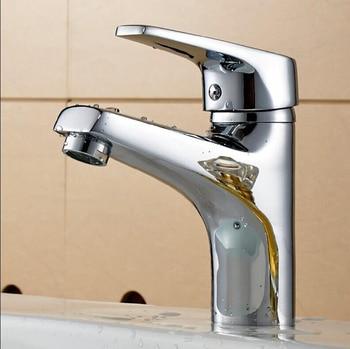 Brass Bathroom Faucet Basin Faucets Single Lever Basin Sink Tap Faucet Mixer