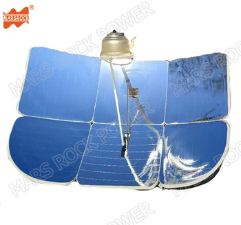 130x190cm Rectangular Partial Focus 2300W Energy-saving Solar Cooker