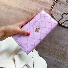 Новая мода вышитые женские длинные тридцать процентов кошелек более экраны рук сумку на молнии большая емкость из искусственной кожи женский кошелек