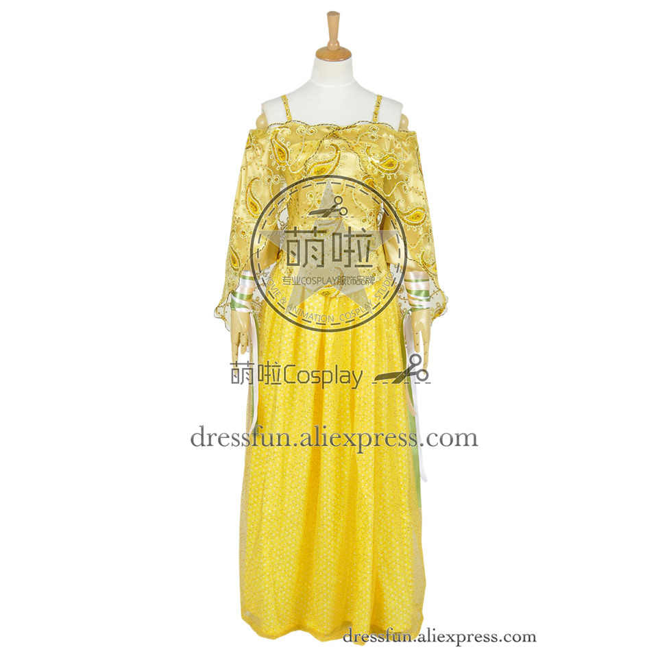 Star Wars Attack Of The Clones Cosplay Padme Amidala Costume