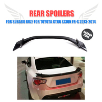 Carbon Fiber Rear Spoiler Trunk Boot Wing for Subaru BRZ for Toyota GT86 For Scion FR S 2013 2014 Car Styling