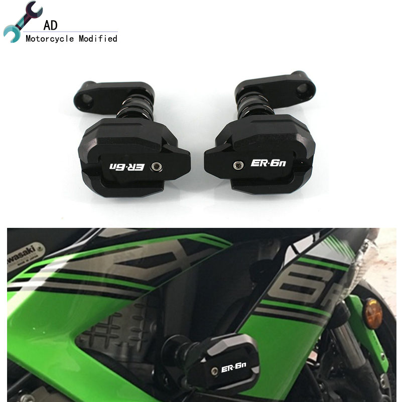 Motorcycle Frame Slider for Kawasaki ER 6N ER6N 2012 2016 Accessories Motorbike Fairing Protector Crash Pads