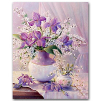 5D DIY Round Full Diamond Painting Flowers Cross Stitch Diamond Mosaic Embroidery Hobbies And Crafts Home