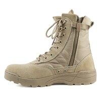 2018 кроссовки Для мужчин высокого верха военные ботильоны повседневная парусиновая обувь Для мужчин повседневная обувь Размеры 39-45