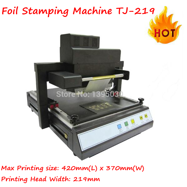TJ-219 Digital Foil Stamping Machine Automatic and high-effcient Flatbed Printing Machine Hot Stamping machine цены