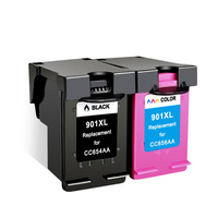 2Pcs for HP901 Re Manufactured Compatible Ink Cartridge for HP 901XL 901 for HP OfficeJet 4500 J4580 J4640 J4660 J4680 Printer