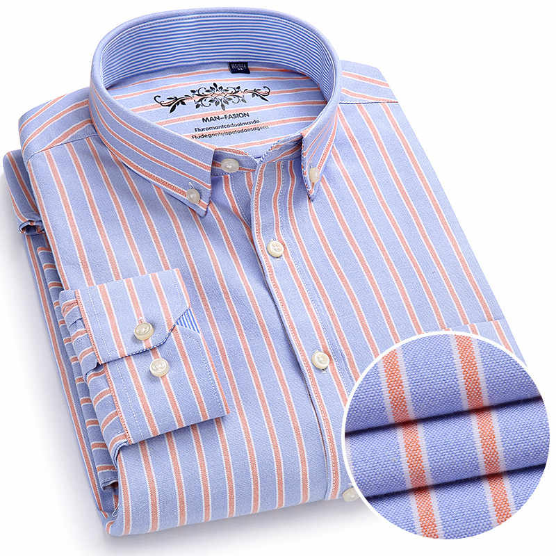416720592 2018 New Arrival Men Shirts Brand Luxury Long Sleeve Cotton Formal Dress  Shirt Male Fashion Slim