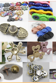 New Triangle Gyroscope Finger Spinner Fidget metal EDC Hand Spinner For Autism and ADHD Anxiety Stress Relief Focus Toys Gift