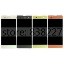 ЖК-дисплей Для Sony Xperia XA F3111 F3113 F3115 ЖК-дисплей с сенсорным экраном дигитайзер ассамблеи белый черный Lemon Зеленый розовый(China (Mainland))