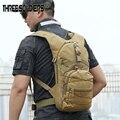 Камуфляжный рюкзак с тремя воинами  для активного отдыха  походов и охоты
