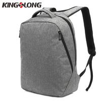 KINGSLONG 2018 Men Backpack For 15 6 Inch Laptop Backpack Large Capacity Paded Backpack Casual Style