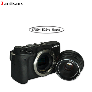 Image 4 - 7 Nghệ Nhân 25Mm F1.8 Camera Ống Kính Prime Cho E Mount Canon EOS M Mout Micro 4/3 Camera Sony A6000 A7 A7II a7R Canon Canon