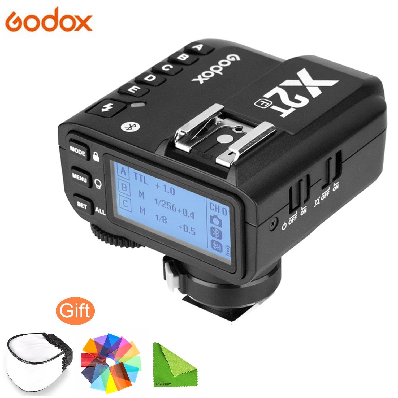 Беспроводной триггер Godox X2T TTL для Nikon Canon Sony Fuji Olympus Dslr Camera, подключение Bluetooth, Поддержка приложения