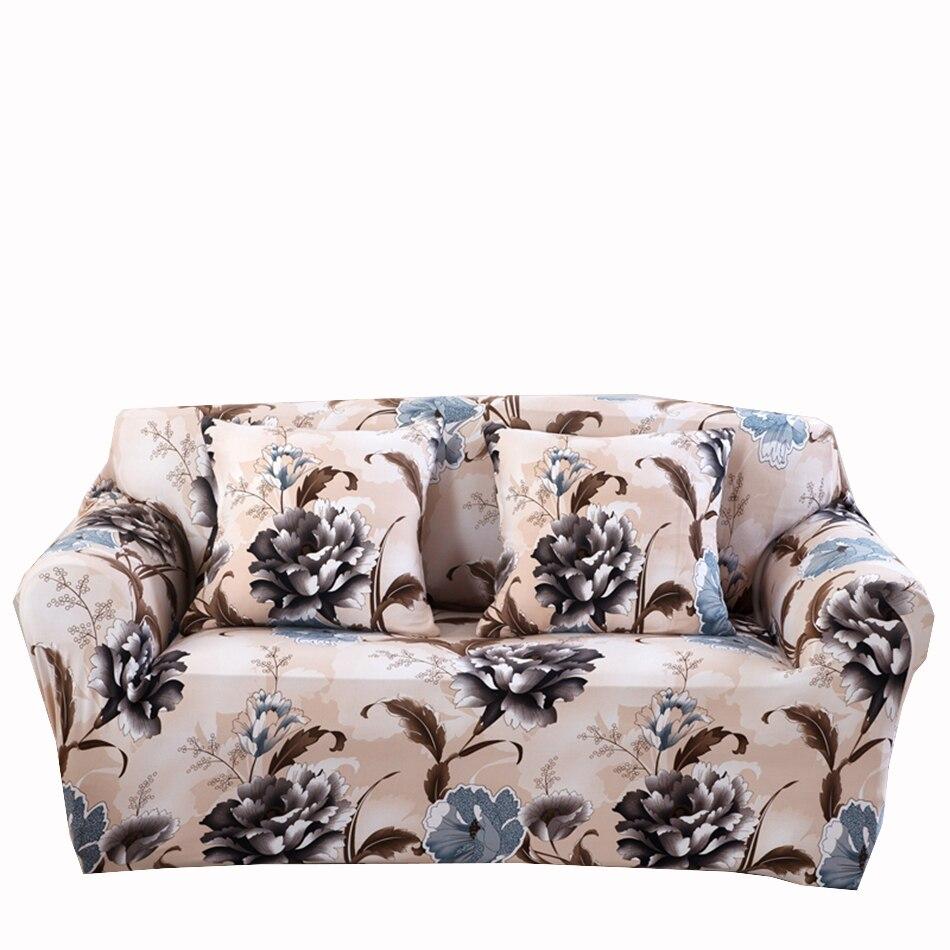 Polyester Universel Extensible Canape Canape Couvre Fleurs Elastique