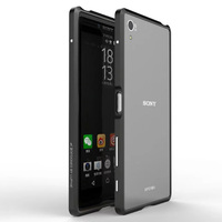 Z5 Premium Luxury Exquisite Cutting Ultra Thin Aircraft Aluminum Metal Bumper Cases For Sony Xperia Z5