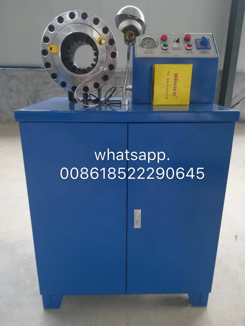 Vyrobeno v Číně BNT50 hydraulické hadice lemovací stroj na - Elektrické nářadí - Fotografie 1