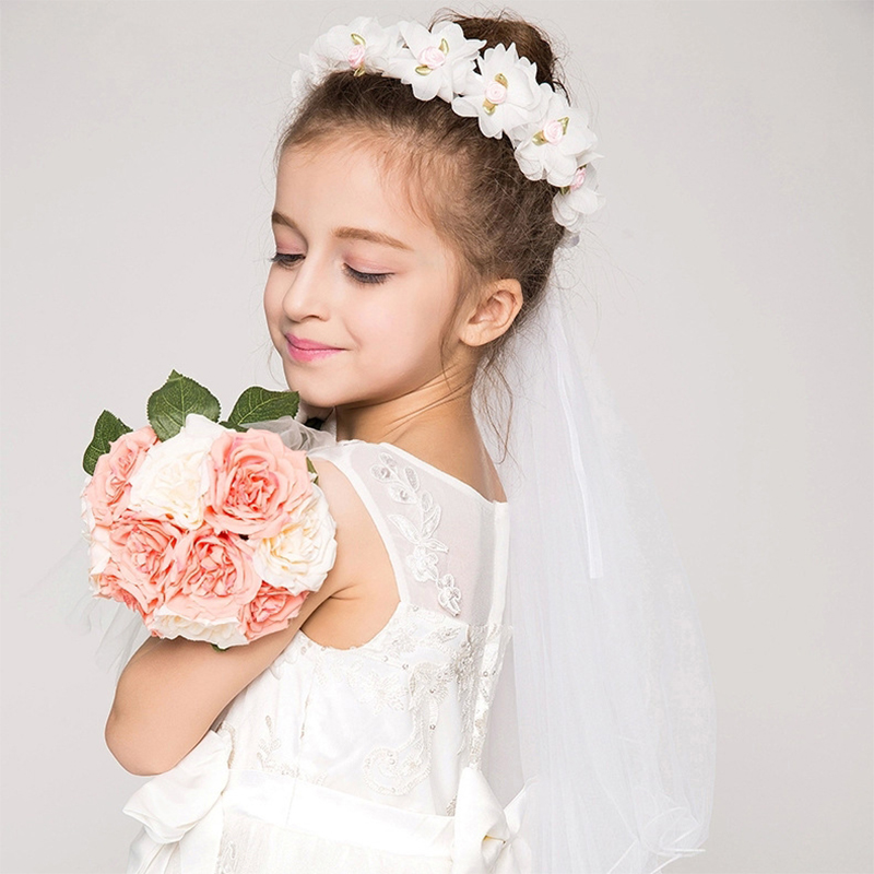 bridal veil girls Designer jeweled & floral headbands for babies, girls and women, bridal accessories, and vintage pieces.