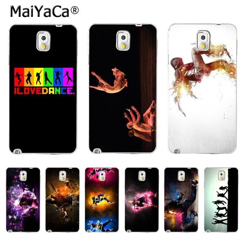 Maiyaca я люблю танцевать Хит продаж дизайн моды кожа тонкий ПК cell чехол для Samsung Galaxy S5 S6 S7 S8 S8 плюс телефона Чехол