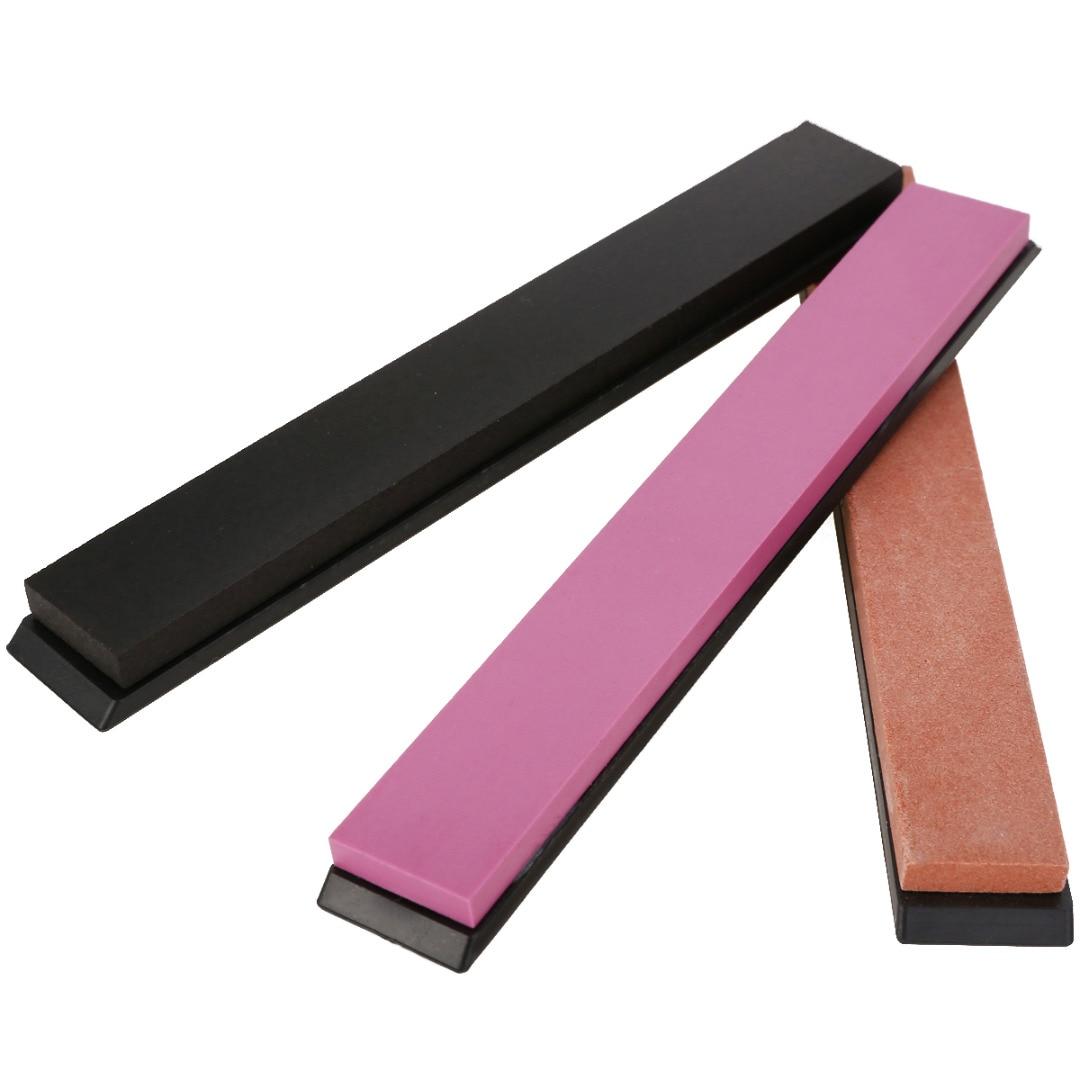 1pc Whetstone Knife Sharpener Dual Sided 1000/3000/5000 Grit Knife Sharpening Water Stone Kitchen Tool