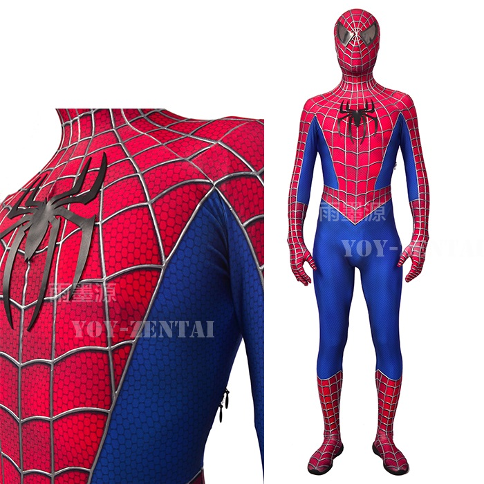 Spiderman Cosplay Tights Uniform Full Body Halloween COS Costume Adult Kids Suit