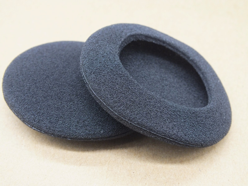 5 pairs 10Pcs 60mm Soft Foam Earbud Headphone Ear pads Replacement Sponge Covers For Earphone MP3 MP4 Size Of 6-7CM