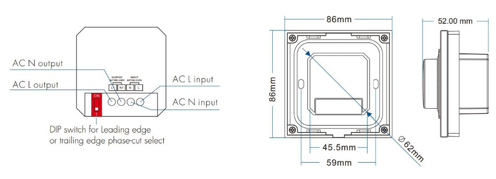 220V LED Dimmer