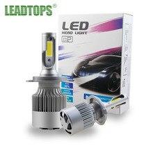 LEADTOPS LED Car H7 Headlight bulb Auto Headlamps H4 H1 H11 H3 9005 9006 880 881Car