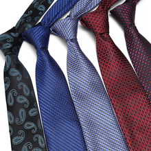 Free Shipping New Mens casual ties Classic Silk woven party Neckties Fashion Plaid dots Man Tie for wedding Business Male tie