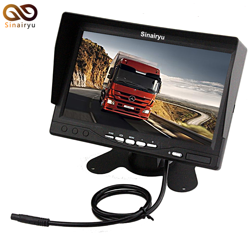 Sinairyu 7 Inch High Resolution 800 480 TFT Color LCD Car Rear View font b Camera