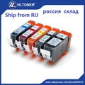 5 шт. Совместимый картридж PGI-520 CLI-521 PGI520 CLI521 для PIXMA IP3600 IP4600 IP4700 MP540 MP550 MP560 MX860 MX870