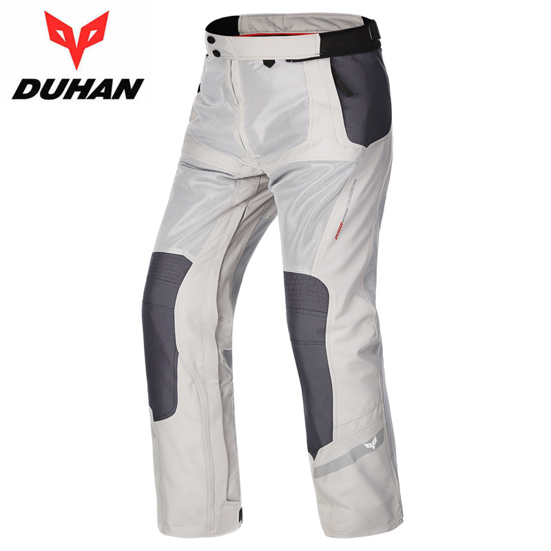 DUHAN Professional Motocycling Riding Protective Trousers Waterproof Windproof Motorcycle Pants Men s Cycling racing Sports Pant